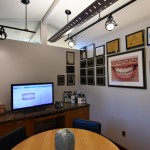Interior view of dental office