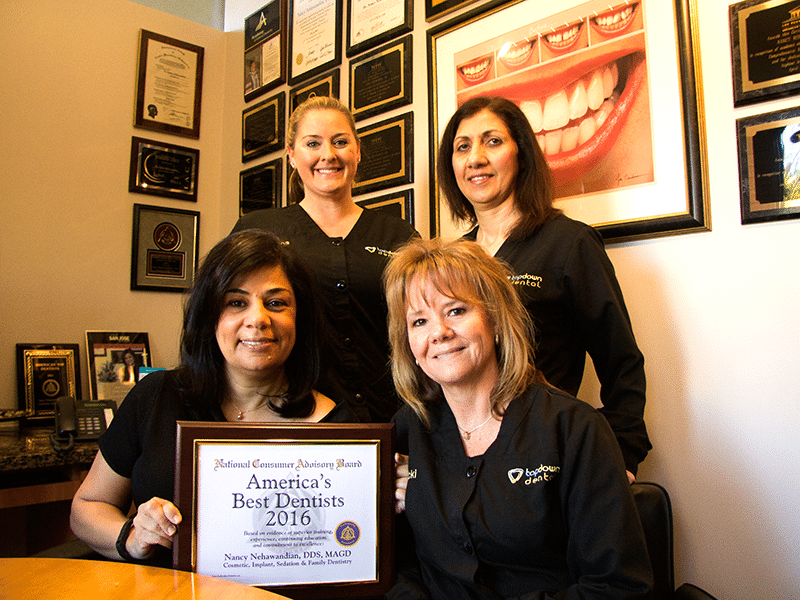 Award-winning Los Gatos dentist Dr. Nancy and her team