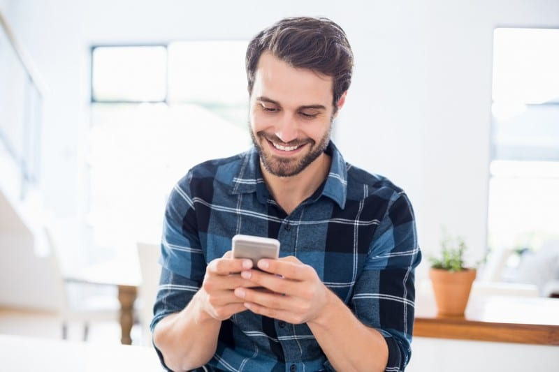 Smiling can improve your dating profile