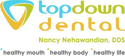 Top Down Dental Retina Logo