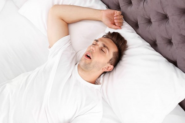 Los Gatos man snoring, needing sleep apnea treatment