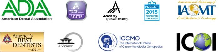 Affiliation logos for Dr. Nancy Nehawandian